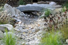 Dry Riverbed Landscaping on Pinterest Dry Creek Bed Dry