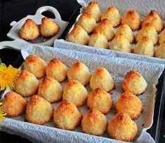 """Biscuiți """"Con"""" cu fulgi de cocos - cea mai simplă rețetă pentru cel mai bun desert! - Bucatarul Pretzel Bites, Biscuit, Picnic, Muffin, Coconut, Bread, Cookies, Breakfast, Desserts"""
