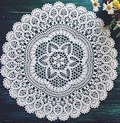 World crochet: Napkin 496 Crochet Dollies, Crochet Buttons, Crochet Doily Patterns, Crochet Chart, Thread Crochet, Filet Crochet, Crochet Scarves, Crochet Motif, Knit Crochet