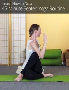 45-Minute Seated Yoga Routine