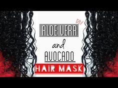 Does Aloe Vera & Avocado Mask Promote Growth, Stop Breakage and Shedding? | Natural Hair Mask