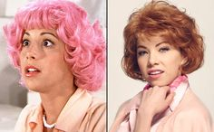 Didi Conn as Frenchy and Carly Rae Jepsen as Frenchy - Grease - Then and Now - EW.com