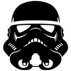 Star Wars Stormtrooper Die Cut Vinyl Decal PV775 for Windows, Vehicle Windows, Vehicle Body Surfaces or just about any surface that is smooth and clean!: