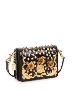 Dolce & Gabbana Lily Twist Crossbody Bag