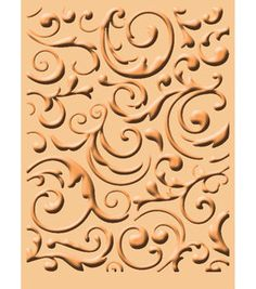 Cuttlebug A2 Embossing Folder-Musical Flourish