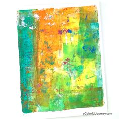 Gel Printing FUNdamentals Workshop with Carolyn Dube    Making gel prints you love isn't guess work or random...it's all about the FUNdamentals - and that's what my newest online workshop is all about! A solid understanding of the hows and whys so that everyone can make prints they love! Registration is now open for this 3 week workshop - details at   https://acolorfuljourney.com/gel-printing-fundamentals/