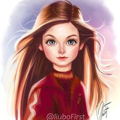 Ginevra Molly Weasley by I grouped the above mentioned questions in regards to the pencil drawing that I received … Mundo Harry Potter, Harry Potter Tumblr, Harry Potter Anime, Harry Potter Fandom, Harry Potter Characters, Harry Potter World, Harry Potter Memes, Potter Facts, Wallpaper Harry Potter