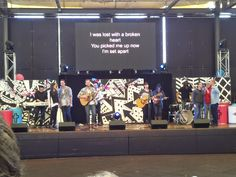 Hillsong College band during an elective at Hillsong Conference Sydney 2013