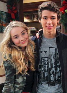 Sabrina Carpenter and Uriah Shelton Sabrina Carpenter, Disney Channel Shows, Disney Shows, Girl Meets World Josh, Maya, Foto Casual, Uriah, Tv Show Quotes, Cute Actors