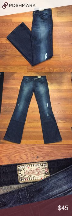 "Siwy Wide Leg Jeans In Great Condition Like new / Style Name:  Harley Wash: Odyssey / Smoke Free Home/ Made in the US! Length:40"" Siwy Jeans Flare & Wide Leg"
