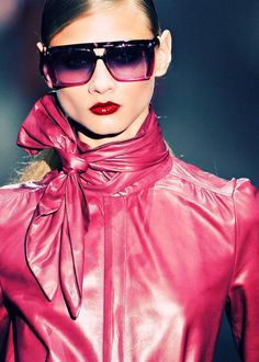 Hot pink leather? Nice