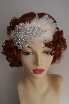 READY TO SHIP SaLe1920s HeadpieceFlapper by yanethandco on Etsy