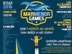 Este fin de semana puedes disfrutar de los deportes náuticos y muchas actividades para toda la familia en #MarMenorGames en #LosAlcázares