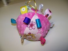 pdf Pattern Taggie Ball toy for Baby 5 Dia Infant by civilwarlady, $3.99