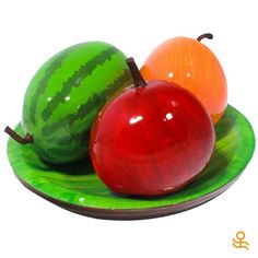 Did you know that in Feng Shui, Calabash Gourds are powerful longevity symbols that ward off pernicious influences in the home? You can have all that good energy in your house with this enchanting set of hand-painted calabash shell fruits #giftideas