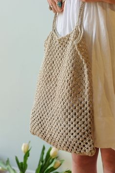 Knitted bag #CraftInspiration