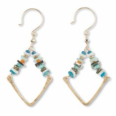 Shop Now! I found the Laurel Grove Earrings at http://www.arhausjewels.com/product/ea1039/drop-earrings. $145.00 #arhausjewels #drop-earrings.