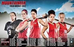 MU loves the photo on the 2012 Women's Field Hockey Season Calender. Click on the picture and you will get all the very latest information on the current team.