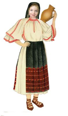 Romanian traditional clothing - Cluj