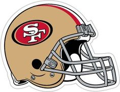 "San Francisco 49ers 12"" Helmet Car Magnet"