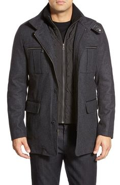 Cole HaanWool Blend Jacket available at #Nordstrom