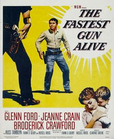 """Released in 1956, posters for the film The Fastest Gone Alive went up outside """"the hut"""" in Hartley Wintney where they showed movies on Saturday nights. The rest of the time it was the dining hall for the nearby primary school which I attended. Boy did I want to see that film, but I was only 5..."""