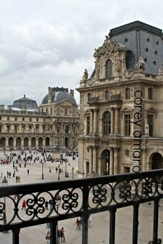 The Louvre looking out....