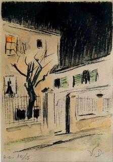 Maison a Paris by kees van dongen