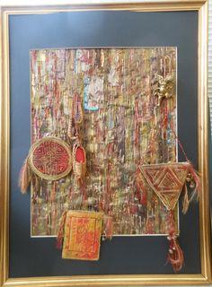 Textile Art online Gallery - Jills pictures of textile fibre art Textile Fiber Art, Fibre Art, Textile Artists, Online Gallery, Byzantine, Art Journals, Online Art, Photo Galleries, Fabrics