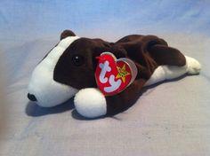 b41cdee1002 TY Beanie Babies Bruno the Dog