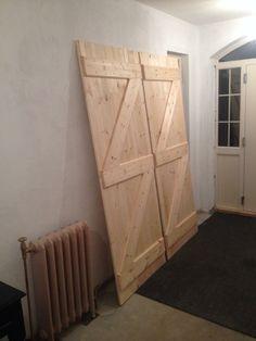 Barn-Style Sliding Doors built by Damien using his Kreg Jig