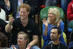 Jill Biden is teaming up with Prince Harry on Monday to celebrate the Warrior Games, the first event for the two of them since she entered the White House. Prince Harry Photos, Prince Harry And Meghan, Queen Elizabeth Park, Presidents Wives, Jill Biden, Invictus Games, Wounded Warrior, Oprah, Interview