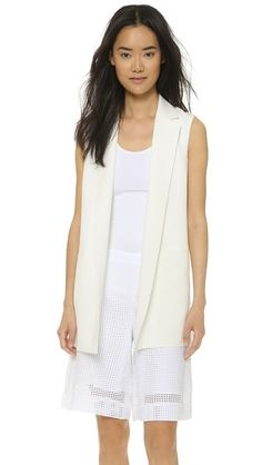 dc234deeb2126d What Jacket to Wear to Work When It s Hot  Glamour.com Sleeveless