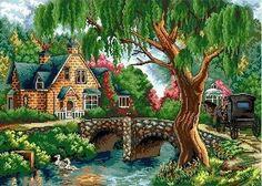 "NEW Cross Stitch Kits""Spring Story"""