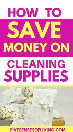 The Best Frugal Tips for Saving money on cleaning supplies. Save money at home with these awesome tips. You don't have to spend tons of money on your everyday cleaning supplies. Frugal Living Tips, Frugal Tips, House Cleaning Tips, Cleaning Hacks, All Natural Cleaning Products, Homemade Cleaning Supplies, Money Saving Tips, Budgeting, Awesome