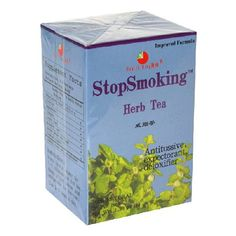 Health King  StopSmoking Herb Tea Teabags 20Count Box Pack of 4 * More info could be found at the image url. (This is an affiliate link and I receive a commission for the sales)