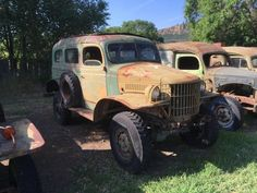Here is a used Dodge WC series 4x4 Power Wagon 4 speed