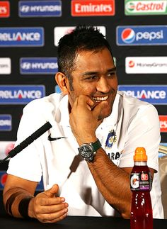 MS Dhoni is ready for the battle with Pakistan!