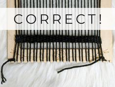 Weaving How To: Keep Your Sides Straight 2019 Correct Image.jpg The post Weaving How To: Keep Your Sides Straight 2019 appeared first on Weaving ideas. Diy Crochet Wall Hanging, Crochet Wall Hangings, Weaving Wall Hanging, Weaving Tools, Weaving Projects, Loom Weaving, Woven Image, Fiber Art Quilts, Peg Loom