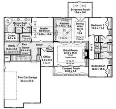 The Henderson Point 8217 - 3 Bedrooms and 2.5 Baths | The House Designers