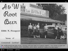 Pekin Illinois, Bradley University, A&w Root Beer, Back In The Day, Childhood Memories, Places, Vintage, Lugares