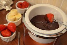 Fondue de Chocolate | Receitas e Temperos