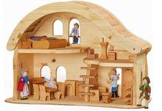 Puppenhaus | Natürliches Holzspielzeug von Norbert Verneuer