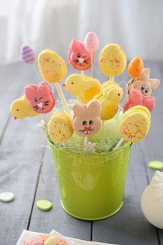 Macarons de Pâques bis