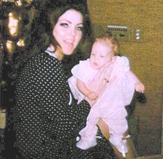 Elvis Priscilla and Lisa Marie Presley | Priscilla and sweet Lisa - priscilla-presley-and-lisa-marie-presley ...