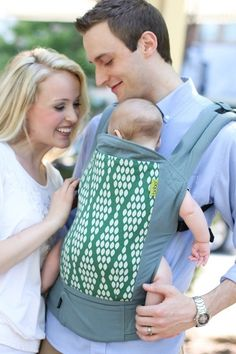 Another look at Verde, the new ORGANIC Boba 4G baby carrier. #bobalove