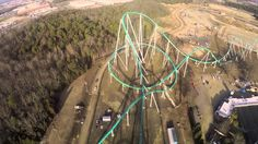 Charlotte, North Carolina amusement park Carowinds has shot some first-person video of the Fury 325, a giant new giga coaster currently being tested at the park. The roller coaster is among the wor...