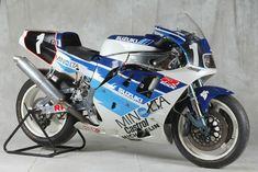 Suzuki Endurance Racing Team from 1990 Gsxr 750, Suzuki Gsx R 750, Suzuki Bikes, Suzuki Motorcycle, Street Motorcycles, Racing Motorcycles, Street Bikes, Racing Team, Road Racing