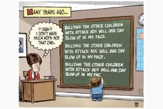 Toronto Star editorial cartoon for April 18, 2013, by Theo Moudakis. #chalkboard #politics #Canada
