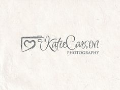 Premade Photography logo design and photography logo Watermark. Camera logo and heart logo. on Etsy, $19.99